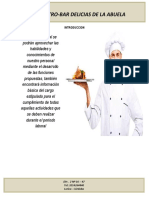 Funciones de Un Chef