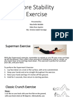 Core Stability Ppt.