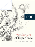 Galen Strawson - The subject of experience-Oxford University Press (2017).pdf