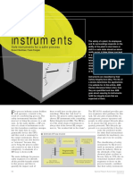 Safer Instruments for a Safe Process