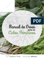 Manual de Ervas para os Ciclos Femininos