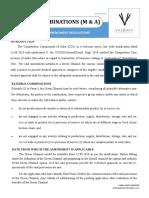 Combinations (M & a) Green Channel- CCI Amendments