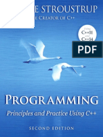 2014 - Programming Principles and Practice Using C Plus Plus