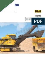 Pala Eléctrica de Minería p h 4800xpc