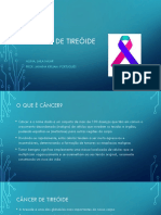 Cancer Tireoide ppt
