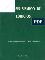 Análisis Sísmico de Edificios - Genaro Delgado Contreras Imprimir