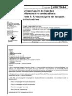 NBR 07505 - 2000 - Armazenagem de Líquidos Inflamáveis e Combustiveis - Parte-1