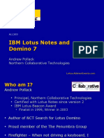 IBM Lotus Notes and Domino 7