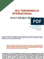 Extremism, terorism și violență în era post-Razboi rece