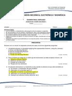 Examen Final Diseño Mecánico i 2018 2