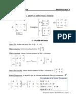 Resumen de Álgebra