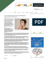 2012.01.26 - Congresso Português de Endocrinologia - Transsexualidade Exige Intervenção Multidisciplinar