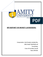 Report on Money Laundering