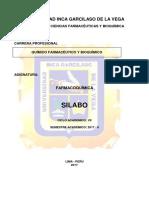 Silabo Farmacoquimica 2017 - II