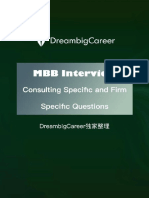 Dream Big Career - MBB Interview