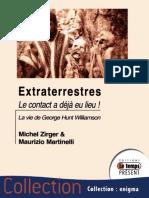 Extraterrestres, Le Contact a Déjà Eu Lieu - Michel Zirger - 2015
