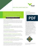 Eclipse Packet Node INU_INUe ANSI Data Sheet (Short Form) - July 2016