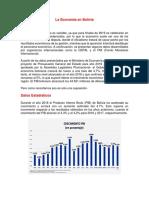 La Economía en Bolivia