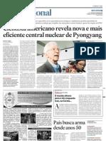 Cientista Americano Revela Nova e Mais Eficiente Central Nuclear de Pyongyang