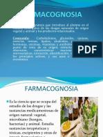 FARMACOGNOSIA - CONCEPTOS