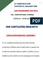 OHE CANTILEVERS&BKT ADJUSTMENT