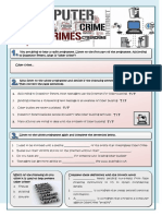 Cybercrime Information Gap Activities Tests