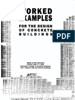 Worked Examples for Design of Concrete Buildings