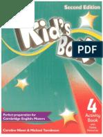 kids box 4 COMPLETO