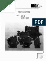 Bock Open Compressors Type F