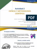 Ciencia y Metodología Científica