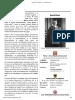 Adolf Hitler - Bibliogarfia