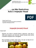 Aula 2 - Inspeção Visual