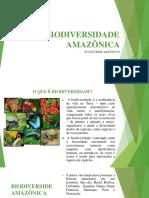 BIODIVERSIDADE AMAZÔNICA  - Cópia