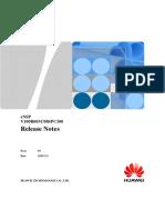 ENSP V100R003C00SPC100 Release Notes