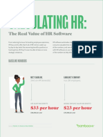 Calculate HR ROI
