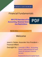 Financial Fundamentals