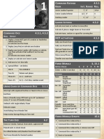 Chain of Command Quick Reference Sheets