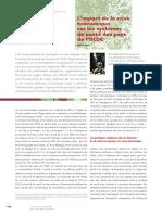 L'impact de la crise économique sur les systèmes de santé des pays de l'OCDE