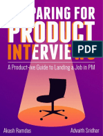 Preparing for Product Interviews