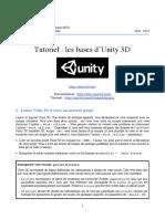 unity tutoriel