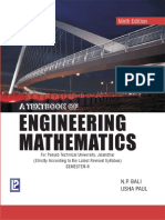 A Textbook of Engineering Mathematics 9th Edition