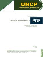 La educación peruana