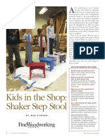 Kids in the Shop Shaker Step Stool