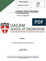 Programa -Diseño de Redes de Fibra Óptica