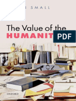 Helen H. Small - The Value of the Humanities-Oxford University Press (2014)