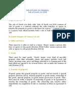 Sale of Goods Act Summary.docx