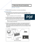 Thermal Conductivity Test Manual UI PUI