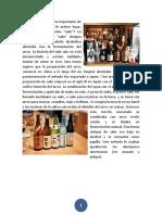 Analisís sobre el sake