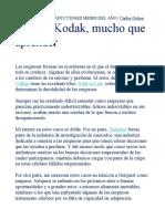 CASO DE FRACASO KODAK