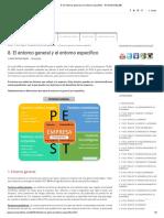 8. El Entorno General y El Entorno Específico - ECONOSUBLIME
